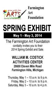 FAF Spring Exhibit