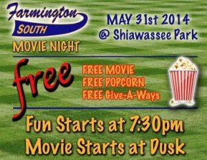South Farmington Baseball Movie Night