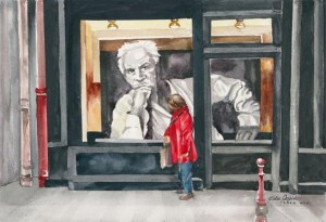 Encounter in Paris by Edee Joppich