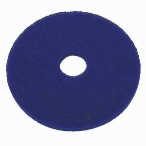 blue scrubbing disk for use with floor disk cleamers