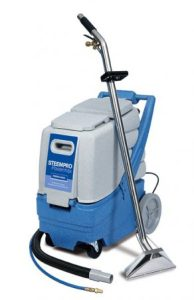 stempro power flow carpet and upholstery cleaning machine