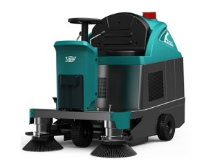 Ride-on Floor sweeper