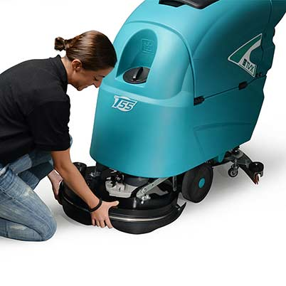 TVX T55 Professional Grade Walk Behind Scrubber Dryer