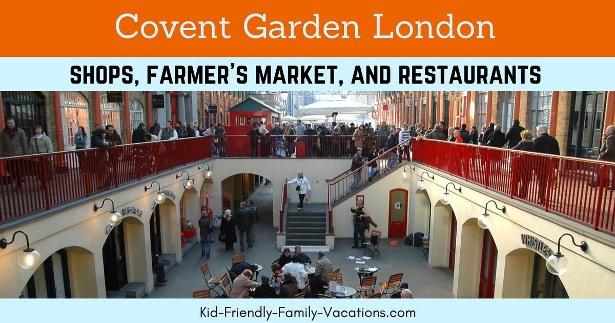 Family Restaurants Covent Garden