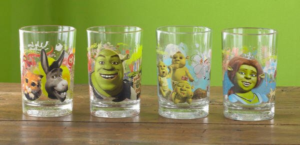 2007-shrek-the-third-glasses-set-mcdonalds-happy-meal-toys