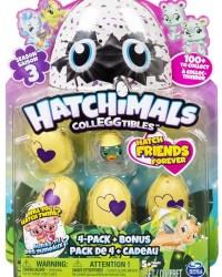Hatchimals CollEGGtibles Season 3 - 4 Pack Plus Bonus