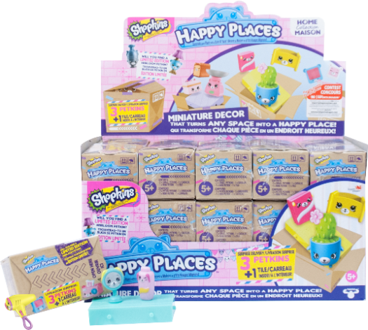 Shopkins Happy Places Season 1 - Surprise Petkin Blind Box 2 Pack