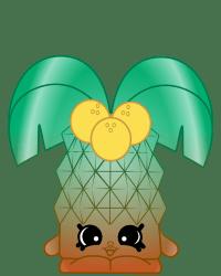 Pamala Palm Tree #8-216 - Shopkins Season 8 - Brazilian Break Team
