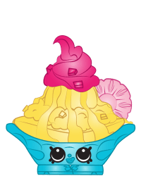 Isadora Ice Cream #8-220 - Shopkins Season 8 - Brazilian Break Team
