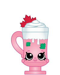 Canuck Cocoa #8-179 - Shopkins Season 8 - Canadian Cuties Team