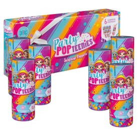 party-popteenies-series-1-Party Pack 6 Surprise Popper Bundle with Confetti