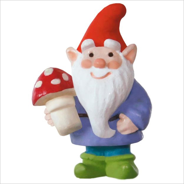 hallmark christmas ornaments 2017 qxm8575 wee little gnome miniature - Hallmark Christmas Decorations