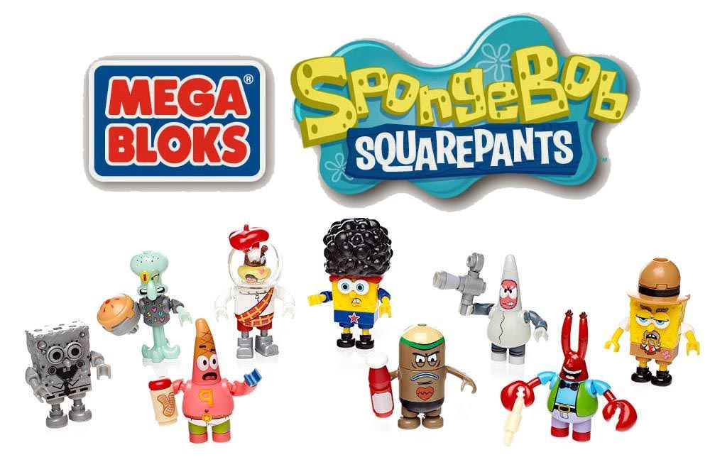 Mega Bloks SpongeBob Action Figures Series 5 Blind Bags
