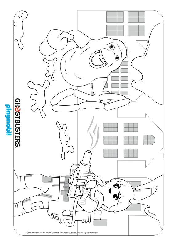 malvorlagen playmobil ghostbusters