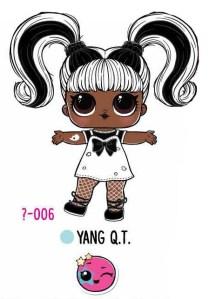 L.O.L. Surprise! Makeover Series Hair Goals – 1-006 Yang Q.T.