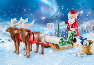 9496 Santa's Sleigh with Reindeer