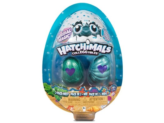 Hatchimals CollEGGtibles Mermal Magic 2pk Nest with Season 5 Hatchimals