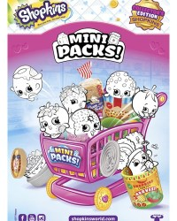 Shopkins Mini Packs Coloring Sheet 1