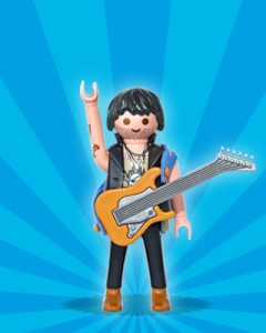 Playmobil Figures Series 1 Boys - Rocker
