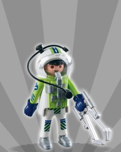 Playmobil Figures Series 3 Boys - Space Astronaut