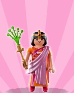 Playmobil Figures Series 3 Girls - Indian Queen