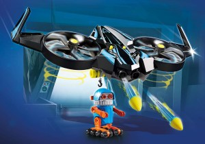 70071 PLAYMOBIL:THE MOVIE Robotitron with Drone