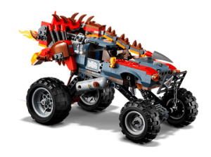 70827 Ultrakatty & Warrior Lucy and 70829 Emmet and Lucy's Escape Buggy