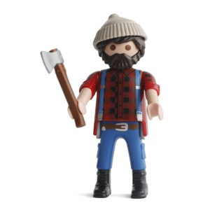 Playmobil Figures Series 15 Boys - Woodcutter