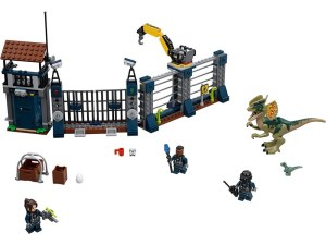 LEGO® Jurassic World™ Products Dilophosaurus Outpost Attack - 75931