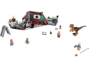 LEGO® Jurassic World™ Products Jurassic Park Raptor Chase - 75932
