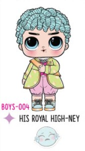L.O.L. Surprise! Boys Series 1 - BOYS-004 His Royal High-Ney