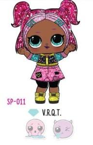 L.O.L. Surprise! Sparkle Series – SP-011 V.R.Q.T.