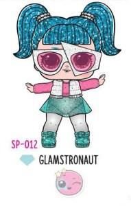 L.O.L. Surprise! Sparkle Series – SP-012 Glamstronaut