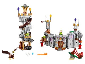 Lego Angry Birds™ King Pig's Castle 75826