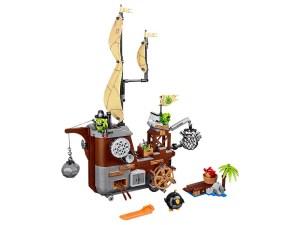 Lego Angry Birds™ Piggy Pirate Ship 75825