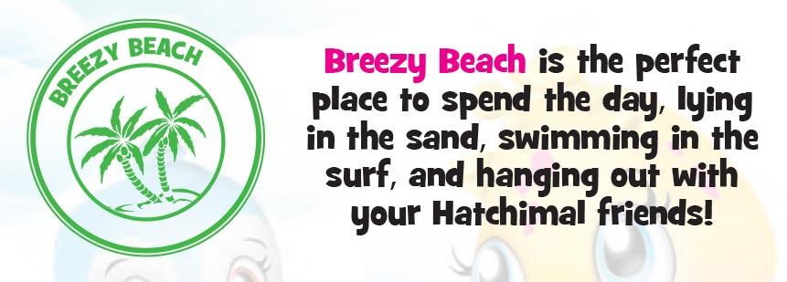Hatchimals Colleggtibles Hangouts Breezy Beach Kids Time