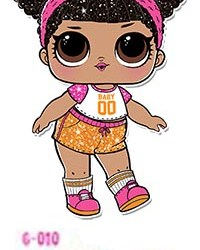 L.O.L Surprise! Glitter Series Doll - Hoops MVP G-010
