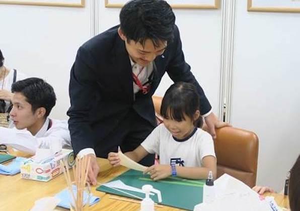 子供のワークショップ