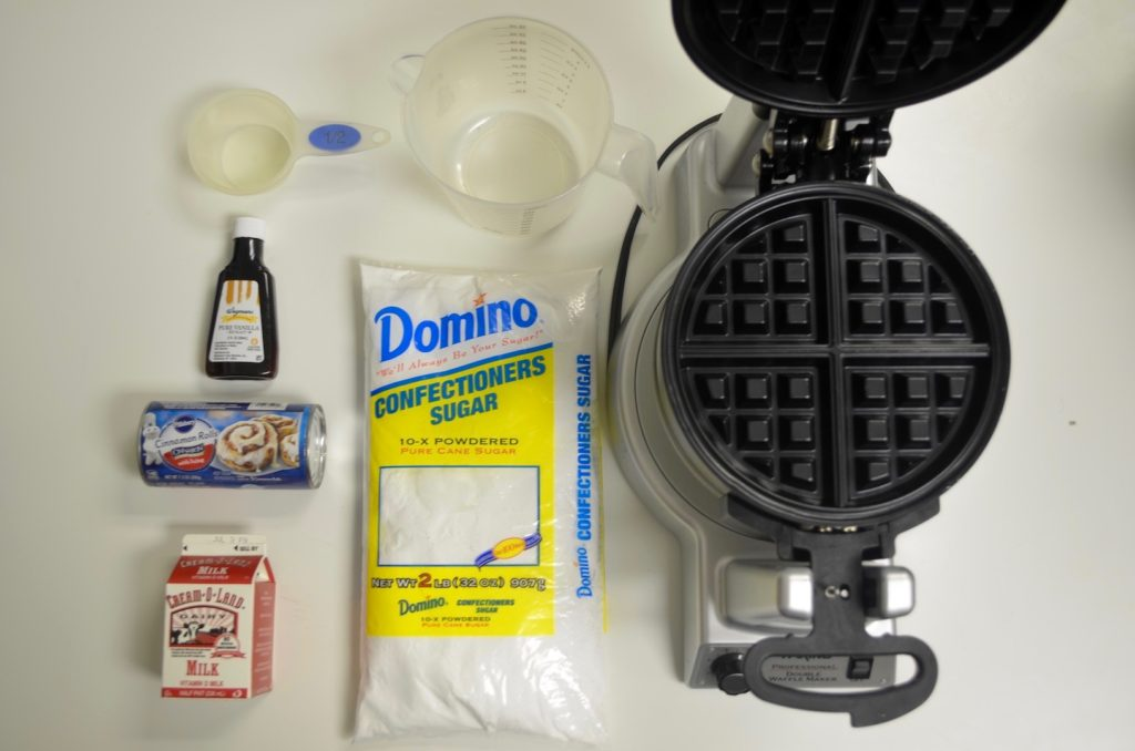 Cinnabon Waffle Ingredients!