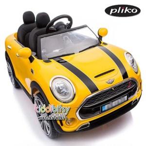 minicooper-2-kursi-kuning