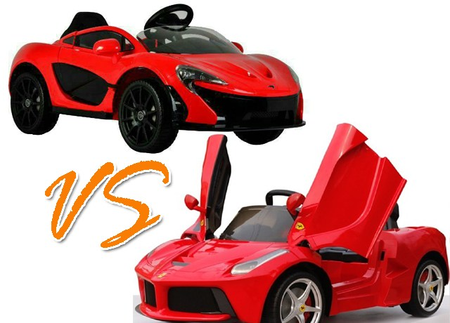 Review Mobil Aki Mclaren P1 VS LaFerrari