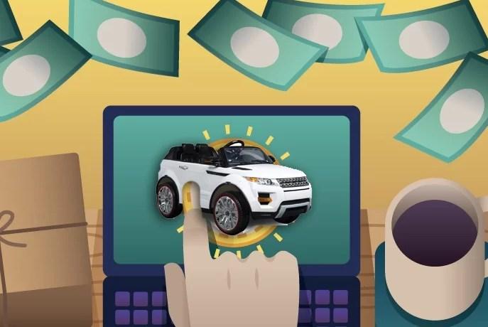 Tips membeli mainan mobil aki online
