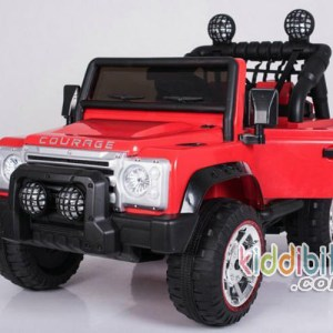 jeep courage merah