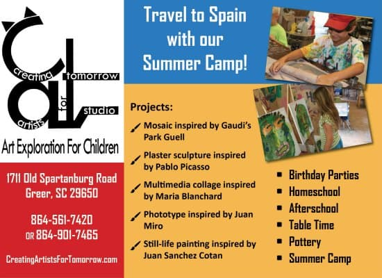 Greenville Best Summer Camp List 2017 Kidding Around