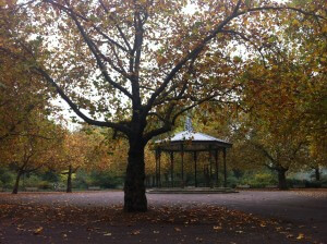 The bandstand at Battersea Park