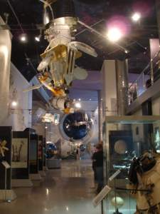 The Memorial Museum of Cosmonautics main gallery