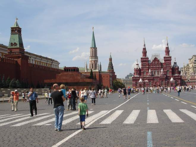 Red Square from St Basil's