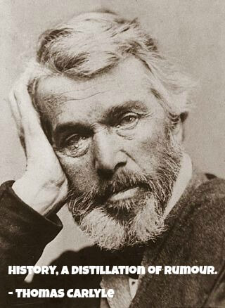 Thomas Carlyle and a quote about history