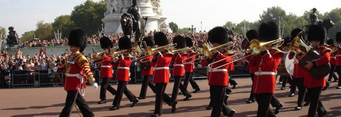 Changing the Guard at Buckingham Palace, London