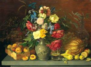 Khrutskaya's Flowers, Fruit and Fly at the Tretyakov Gallery